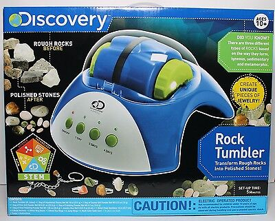 New - DISCOVERY.KIDS Rock Tumbler