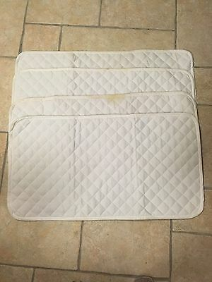 Set Of 4 Cotton Quilted Bandage Wraps. *NEVER USED *