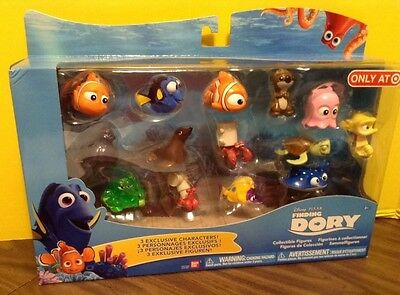 Disney Finding Nemo Finding Dory Collectible Figure Set Target Exclusive