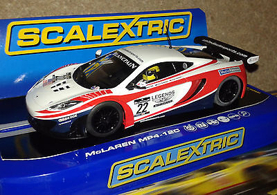 SCALEXTRIC DPR C3389 McLAREN MP4-12C No. 22  FRONT/REAR LIGHTS 1:32 NEW IN BOX