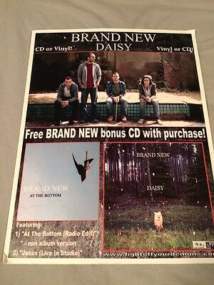 Brand New Daisy Record Store Cardboard Promo Display At The Bottom Cd Single LP