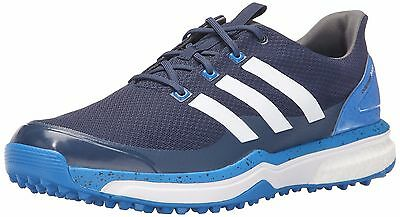 SALE - adidas Adipower S Boost 2 Golf Shoes | UK 9M EU 43.3 | Blue/White