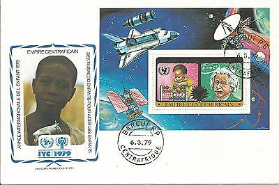 FDC International year of the Child Central African Republic 1979 (1)
