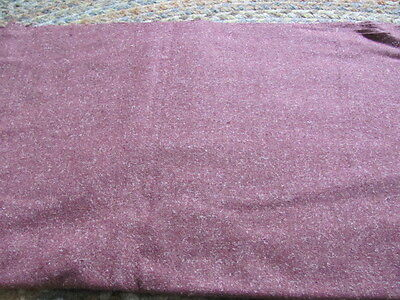 Vintage mauve suit weight wool with white flecks