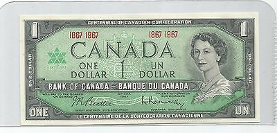 1967 One Dollar Bank Note From Canada  Appears To Be UNC  NO Serial #