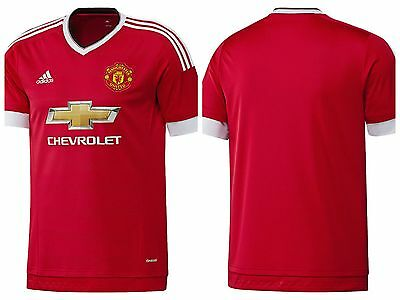 Adidas Manchester United 2015/16 Home Shirt Free Postage
