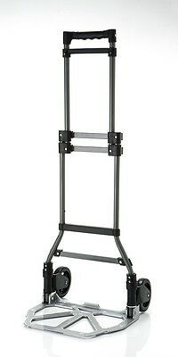 240LBS Foldable Steel HAND TRUCK / DOLLEY for traveling,warehousing. and etc