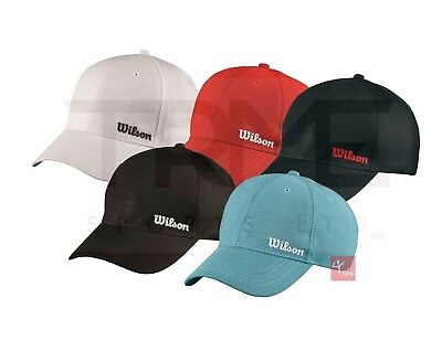 Wilson Summer Cap (Available in White, Black, Red and Stillwater Blue)