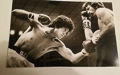 Salvador sanchez vs Danny Lopez  boxing photo