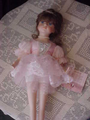 Ballerina Doll Collectible Memories Limited Edition Porcelain Doll Gabriella