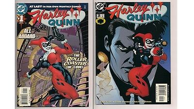 Harley Quinn #1 & #2  Harley Quinn Own Monthly Comic (2000, DC)