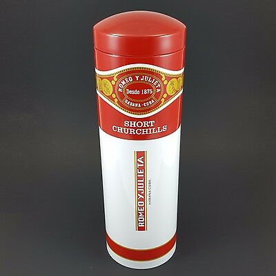 ROMEO Y JULIETA Cigar Storage TUBE - Jar holds up to 40 Cigars