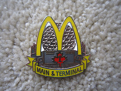 Mcdonalds Main & Terminal Vancouver B.c. 1 1/4 X 1 1/4 Inch Mint Never Worn