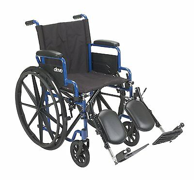 Wheelchair, Flip Back Desk Arms, Elevated Leg Rests