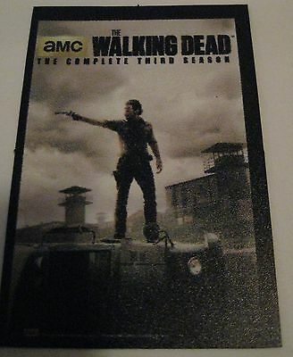 The Walking Dead Season 3 TV Show Horror Promo Fridge Magnet