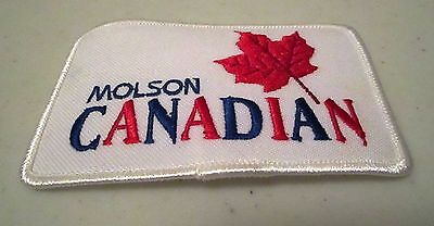 Molson Canadian Beer Logo Patch Canada