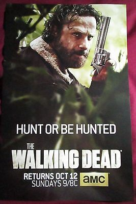 The Walking Dead Season 5 TV Promo Poster Comic Con 2015 Andrew Lincoln Rick