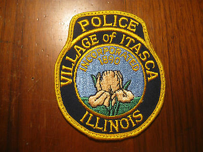 Itasca Il Police Patch
