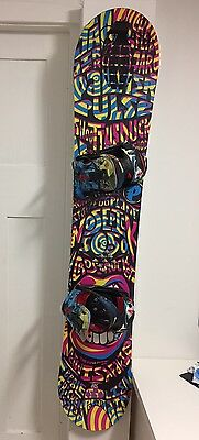 Unique Snowboard - Palmer Pulse 162cm with Flow Bindings - Rare Combo