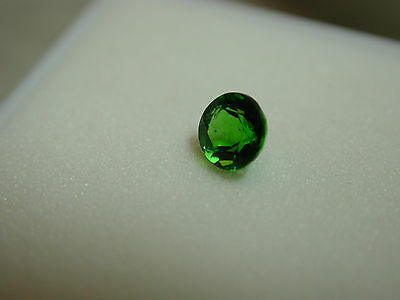 .21 ct round faceted chrome diopside loose gemstone NICE! y96p61