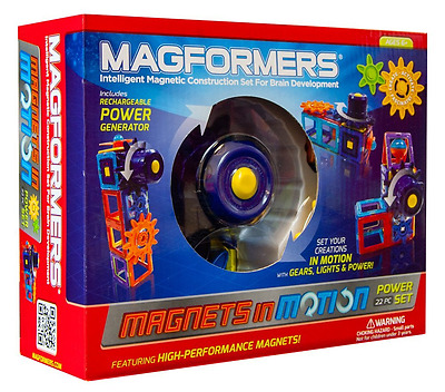 Magformers Magnets in Motion 22 Piece Power Set