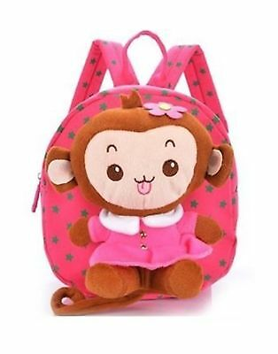 Baby Rae Toddler Kid Walking Safety Leash Backpack with Detachable Cute Monkey S