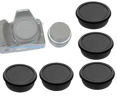 5 x Lens Rear Body Cap for Pentax DSLR Lens K-70 K-1 K-3 II  K-S2 K-S1 K-3 K-50