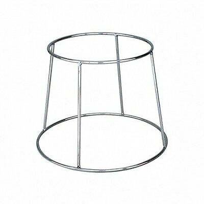 Pizza Plate Platter Stand Chrome Plate