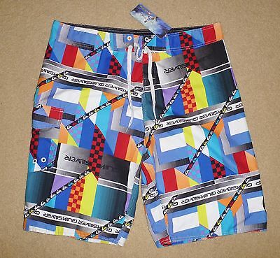 New Tagged QUIKSILVER Size 40 Mens Boardies Mens Board Shorts Multicoloured