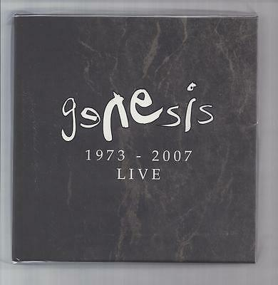 GENESIS empty Disk Union Live 1973-2007 slipcase PROMO box for JAPAN mini lp cd