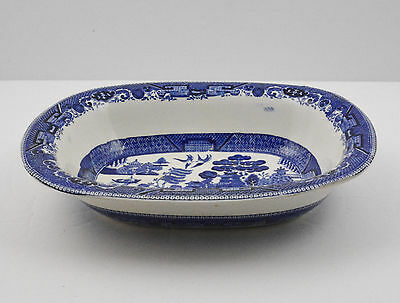 """Buffalo Pottery Oval Vegetable Serving Bowl (8 1/2"""" by 6 7/8"""")"""