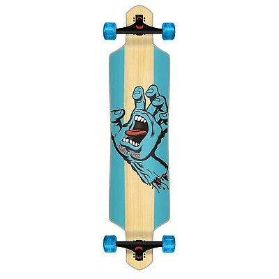 Santa Cruz Drop Thru Longboard - Stained Hand 41""