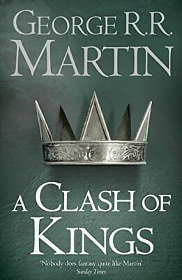 A Clash of Kings (Reissue) (A Song of I by George R.R. Martin New Paperback Book