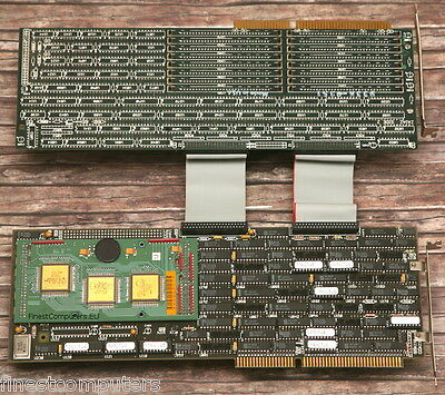 ZAIAZ 993 Clipper UNIX System V ISA board. Extremely RARE. Museum grade!