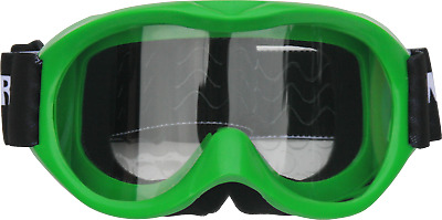 Kids/Youth Goggles - Motocross, dirt bike, GREEN, quad, ATV, MX, non slip helmet