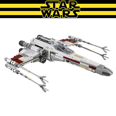 Star Wars The X-wing Red Five Starfighter Model 1586pcs Building Block Toys