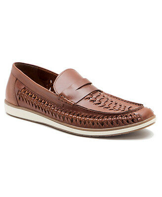 Red Tape Ashley Mens Leather Tan Slip On Shoes Uk 7-12