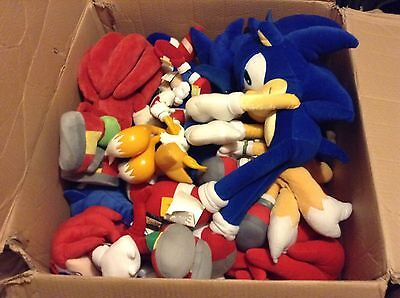 Job Lot Bundle Of Sonic The Hedgehog Toys x16