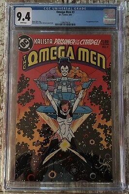 The Omega Men #3 NM CGC 9.4 1st Appearance of Lobo DC Comics Keith Giffen