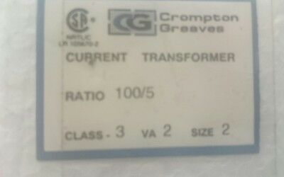 Crompton Greaves Current Transformer 100/5 CGCT-2