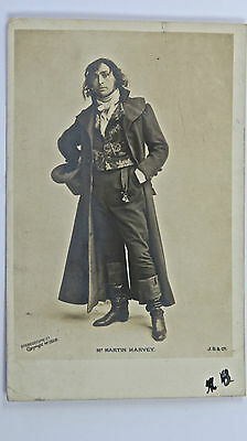 Edwardian Stage & Theatre Actor Mr Martin Harvey in The Only Way Postcard No1328