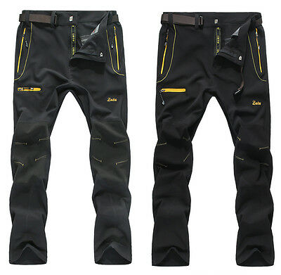 Good Men Waterproof Fashion Breathable Hiking Quick-drying Outdoor Pants 9922