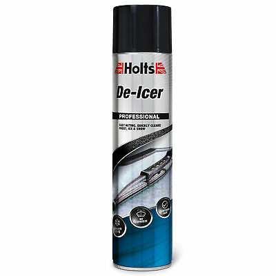 Holts Fast Acting Winter Windscreen De-Icer Spray Aerosol Can 600ml