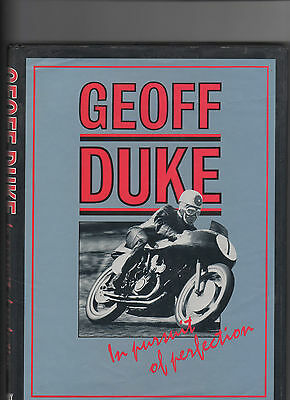 Geoff Duke In Pursuit Of Perfection Signed By Duke