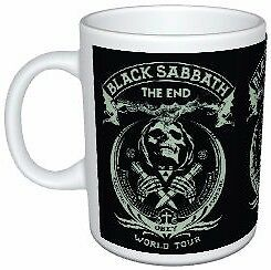 Black Sabbath The End World Tour Poster Mug
