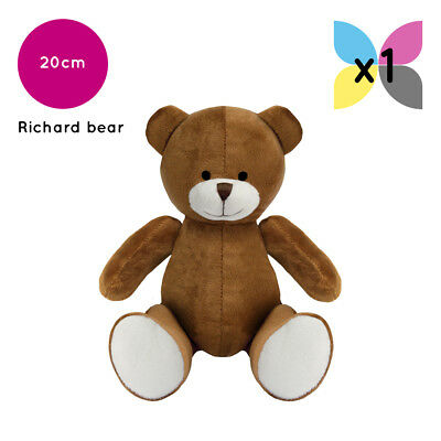 Brown Richard Teddy Bear Without Clothing Blank Plain Soft Toy Plush Gift