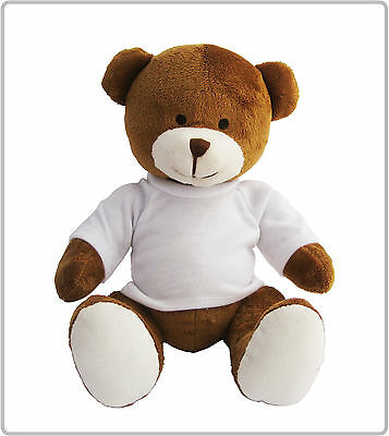 10 Printable Richard Teddy Bears With Blank Tshirt Ideal 4 Sublimation Transfers