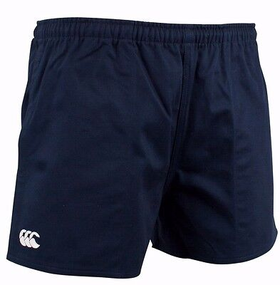 """Canterbury Cotton Rugby Shorts Navy 36"""" New"""