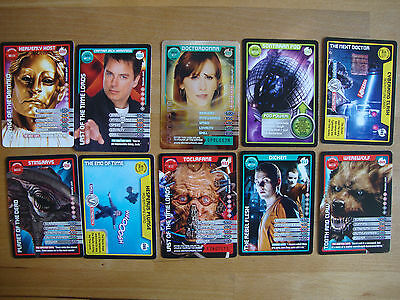 10 Doctor Who Trading Cards Lot 33
