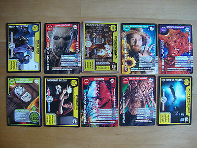 10 Doctor Who Trading Cards Lot 1